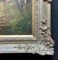'John Williamson' Superb Woodland Landscape Oil Painting (9 of 11)