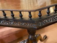 Late 18th Century Octagonal Galleried Occasional Table (2 of 7)