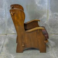 Pair of Elm Lambing Chairs (6 of 8)