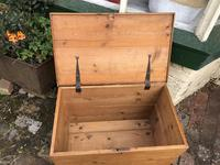 Antique Pine Travelling Box (5 of 6)