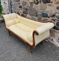 Large Regency Brass Inlaid Scroll End Sofa (2 of 9)