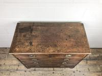 Antique George III Mahogany Chest of Drawers (3 of 10)