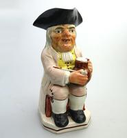 Good Staffordshire Pearlware Toby Jug Early 19th Century (3 of 12)