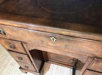 George III Style Burr Walnut Desk c.1920 (19 of 20)