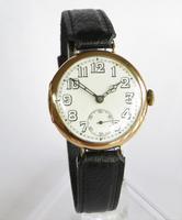 Gents 9ct Gold Vertex Wrist Watch, 1925 (2 of 6)