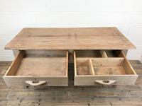 Early 20th Century Antique Oak & Pine Work Table (7 of 15)