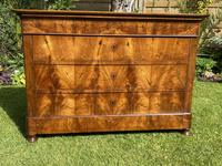 French Burr Walnut Commode (3 of 6)
