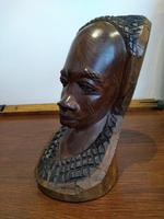 Husband & Wife Tribal Art Carving (8 of 12)