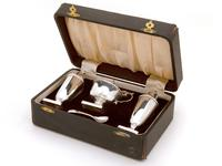 Boxed Four Piece Silver Condiment Set (2 of 7)