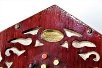 Lachenal Mahogany concertina in the original carrier case which is in very good condition (10 of 13)