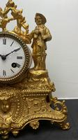 Japy Freres Gilt Mantle Clock (3 of 8)