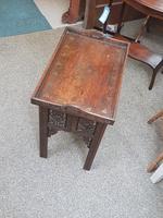 Indian Hardwood Drinks Table (6 of 9)