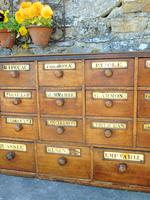 Charming Set of Antique Apothecary Drawers (7 of 10)