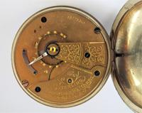 1903 Waltham Sterling Pocket Watch & Chain (5 of 5)