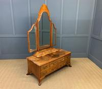 Maurice Adams Burr Walnut Dressing Table