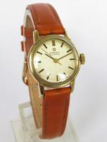 Ladies 9ct Gold Omega Wrist Watch, 1968 (2 of 5)