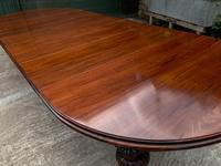 Impressive Victorian Mahogany Extending Dining Table - Seats 12 (5 of 23)