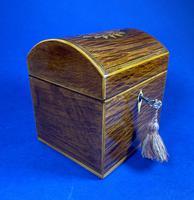 George III Partridge Wood Tea Caddy (2 of 12)