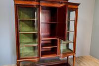 Inlaid Mahogany Display Cabinet (9 of 9)