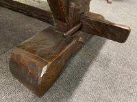 Rustic Oak Farmhouse Table & Bench Set (12 of 29)