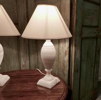 Pair of Art Deco Marble Table Lamps (3 of 5)