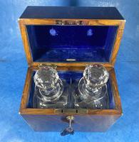 Victorian Brassbound Oak Decanter Box (8 of 20)