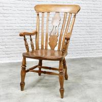 Large Windsor Lyreback Armchair (6 of 7)