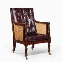 Regency Mahogany Bergère chair (2 of 8)