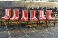 Antique French Regency Jeanselme Rosewood Dining Chairs (3 of 11)