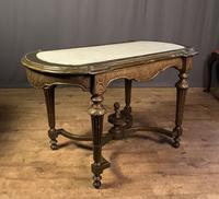 Napoleon III Giltwood Library or Sofa Table (4 of 13)