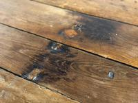 Very Early Oak Farmhouse Refectory Dining Table (10 of 31)