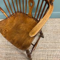 Georgian Wheel Back Antique Windsor Chair (2 of 6)