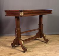 Superb French metamorphic mahogany three tier buffet serving table