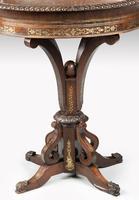 Oval Brass Jardinière Table (3 of 5)