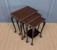 Nest of 3 Mahogany Tables (6 of 12)