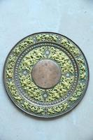 Indian Decorative Copper & Brass Tray (7 of 11)