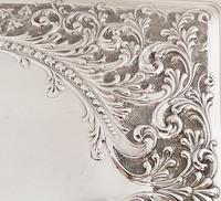 Antique Edwardian Sterling Silver Dressing  Tray  1905 (7 of 9)