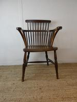 Early 19th C English Comb Back Windsor Chair (7 of 7)