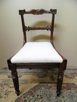 Set of 6 William IV Rosewood Dining Chairs (7 of 9)