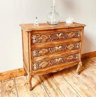 French Antique Style Small Chest of Drawers (2 of 4)