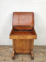Antique Walnut Davenport Desk (10 of 11)