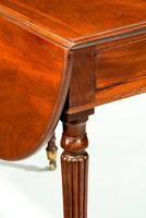 Elegant Georgian Period Mahogany Pembroke Table (4 of 5)