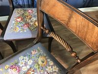 Set of Four Regency Style Dining Chairs by Gill & Reigate (12 of 12)