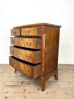 Small 20th Century Walnut Chest of Drawers (8 of 10)