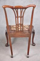 Pair Of 18th Century Mahogany Chippendale Side Chairs (2 of 11)
