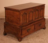 Small English Chest in Oak - 18th Century (11 of 16)