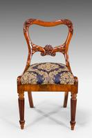 Set of Eight Regency Period Dining Chairs (3 of 5)
