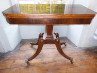 English Regency Card Table