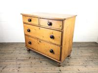 Victorian Pine Chest of Drawers (11 of 13)