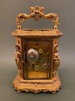 Rare French Mid 19th Century 'Caryatid' Cased Carriage Clock – Lucien Paris (5 of 6)